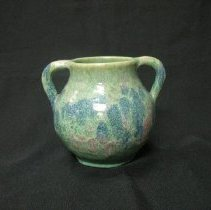 Image of Ceramic - A. R. (Arthur Ray) Cole (1892-1974) worked on his father's pottery shop in Seagrove, North Carolina from 1915 to 1925.He later established Rainbow Pottery in Steeds, North Carolina, and then moved to Sanford on US 1, the tourist highway linking New York to Florida. He was a creative designed who perfected unusal striped, multi-colored glazed and large forms; his work was the product of a vivid rustic imagination.