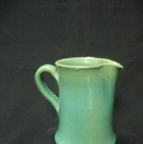 "Image of Ceramic - C.C. (Charles C.)  Cole (1887-1967) worked with his brother Everette from 1927 to 1933. With the death of their brother Clarence in 1937, Charles took over pottery production at the Steeds, N.C. shop that had originally belonged to their father, Ruffin Cole. C.C. continued growing his business, and in 1939, he expanded into Seagrove, N.C. and moved his productino facility there. During its existence, C.C. Cole pottery was one of the early manufactories to convert to electric-fired kiln, motorized potter's wheels, and belt sanders for cleaning a pot's ""dirty bottom."""