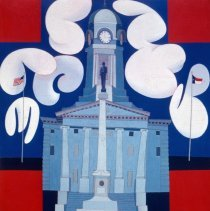 Image of Greenville Series # 2, Pitt County Court House by Ed Reep