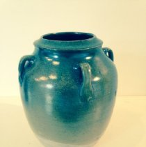 Image of Ceramic - Jugtown Vase with Frogskin Glaze