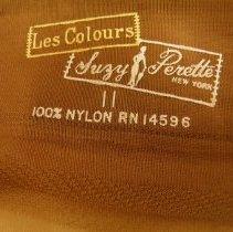 Image of label on stocking