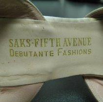 Image of Detail (b - left shoe)