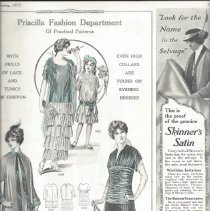 Image of page 25, February 1915 - ad for Peerless Patterns