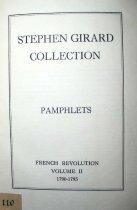 Image of The Stephen Girard Personal Library - 1110