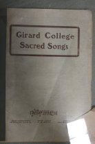 Image of Music, Sheet - The Girard College Legacy Collection