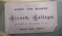 Image of Invitation - The Girard College Legacy Collection