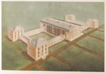 Image of Drawing, Architectural - Girard College Architectural Drawings Collection