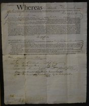 Image of Documents, Framed - The Stephen Girard Archival Papers Collection