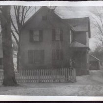 Image of Lake Forest - Lake Forest 9. Harlan Home. Remodel job.  The old photos are  from the Harlan Family Album and were scanned for Museum. The Museum doesn't hold the album.