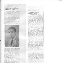 Image of Newspaper article on Northrup pg. 11