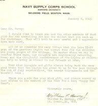 Image of Lt. Comdr. William F.  Harvey, Jr.  pg. 44
