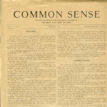 Image of Common Sense
