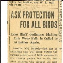 Image of Ask Protection for all Birds -