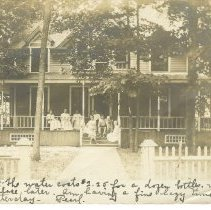 Image of Judge Thornton's house - Judge Thornton's house, 650 Sunrise. Demolished.