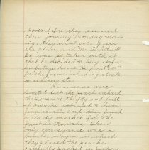 Image of A handwritten history of Lake Bluff at the time of the Illinois Centennial, 1918. Written as a part of a county wide centennial program,  the history was researched by the 7th and 8th grade classes of the Lake Bluff School.  Some photographs are included .