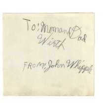 Image of Memo - Letter to Mr & Mrs Wirth from John Whipple after his move from Swift North to Wadsworth 2