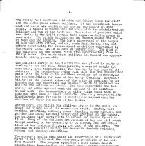Image of Folder, File                                                                                                                                                                                                                                                   - Article by UK author - Lake Bluff Children's Home - 1950's overview of Lake Bluff Children's Home operations