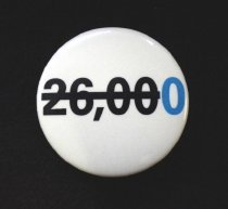Image of UNICEF 26,000 button