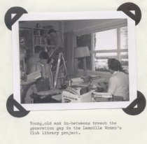 Image of Lamoille Women's Club community library, 1968