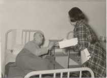 Image of Visiting patients of the state hospital