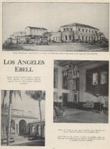 Image of Ebell of Los Angeles, Calif.