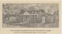 Image of Texas Federation of Women's Clubs Headquarters, Austin, Texas