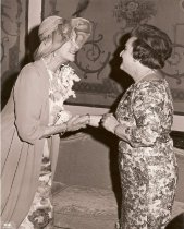 Image of Margaret Arnold with the Duchess of Luxembourg