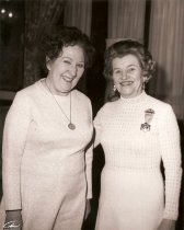Image of Mary Katharine Miller and guest