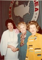 Image of Mary K. Miller, Katharine Findley, and Virginia Knauer