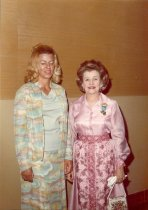 Image of Kathi Walker, GFWC Director of Junior Clubs, and Mary Katharine Miller