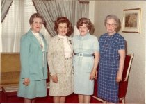 Image of Mary Katherine Miller and GFWC clubwomen