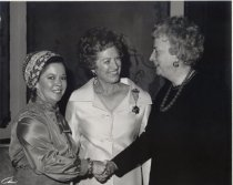 Image of Jerri Wagner and Shirley Temple Black