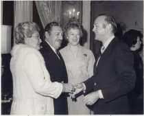 Image of Governor and Mrs. Castro, Jerri Wagner, Dennis DeConcini