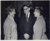Image of Jerri Winger, Forrest Bocus, and Mrs. Bocus