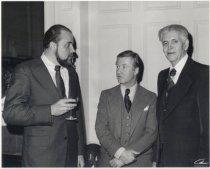 Image of Richard Clark (L), J. J. Madden (C), and Mr. Harry Wagner, Jr. (R)
