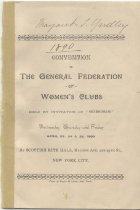 Image of CON 1890.04 - Convention and Meeting Records