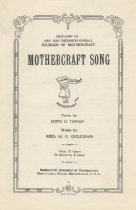 Image of Mothercraft Song, c1934
