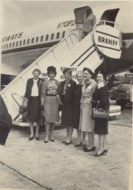 Image of GFWC Board of Directors prepare to leave for Mexico