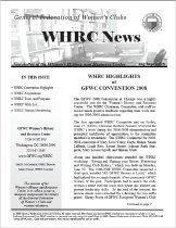 Image of WHN 2008.08 - Women's History and Resource Center Newsletters