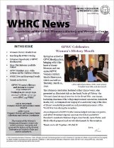 Image of Cover, WHRC News, April-May 2010