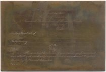 Image of Copper engraveing plate for foreign introductions
