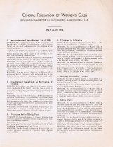 Image of Resolutions adopted, sixty-second annual convention, 1953