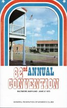 Image of CON 1973.06 - Convention and Meeting Records
