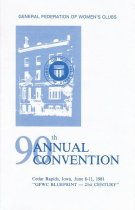 Image of CON 1981.06 - Convention and Meeting Records