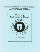 Image of Membership, ninty-first annual convention, 1982