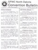 Image of Bulletin, ninty-first annual convention, 1982