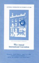 Image of Cover, ninty-first annual international convention, 1982