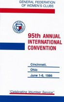 Image of CON 1986.06 - Convention and Meeting Records