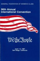 Image of CON 1987.06 - Convention and Meeting Records
