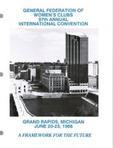 Image of CON 1988.06 - Convention and Meeting Records